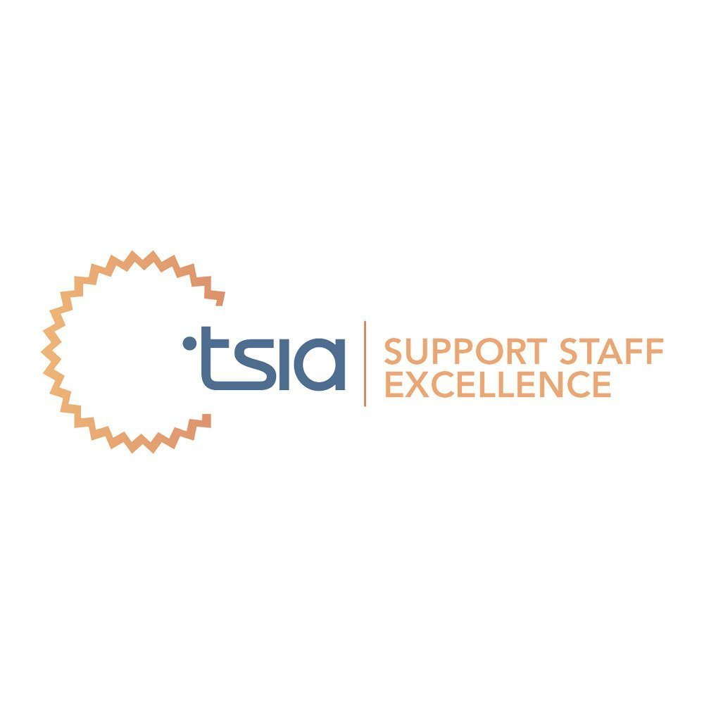 tsia support staff excellence logo