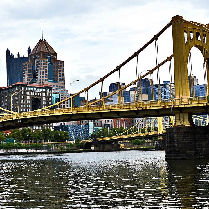 Pittsburgh river view