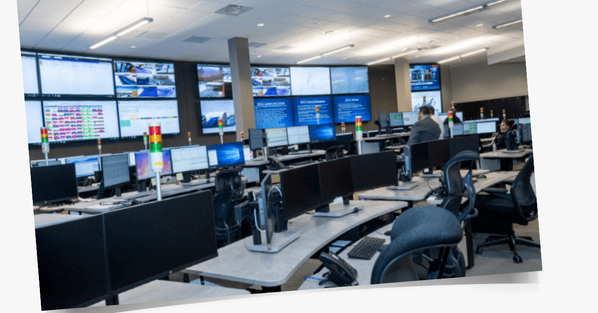 Kettering TeleTracking Operational Command Center