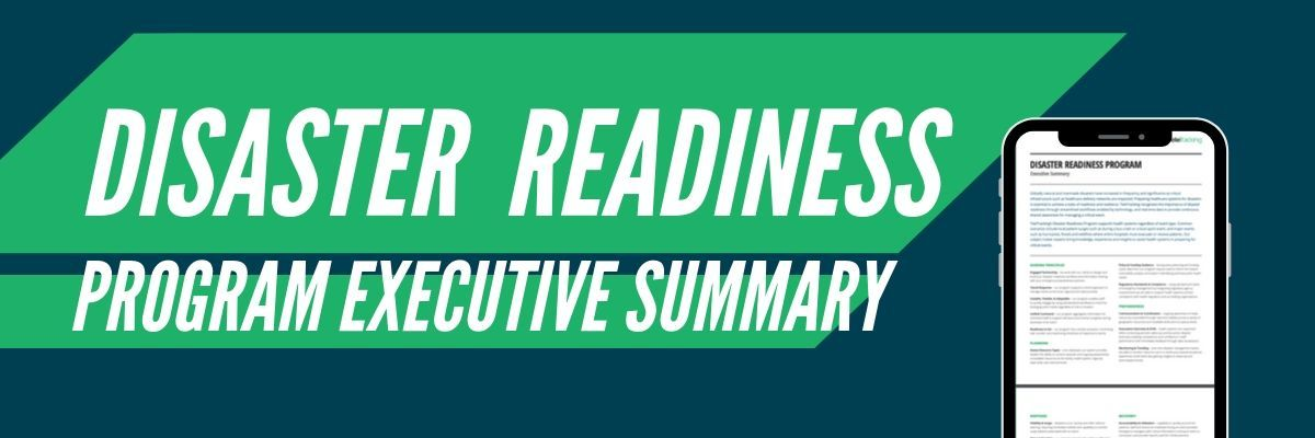 Disaster Readiness Executive Summary